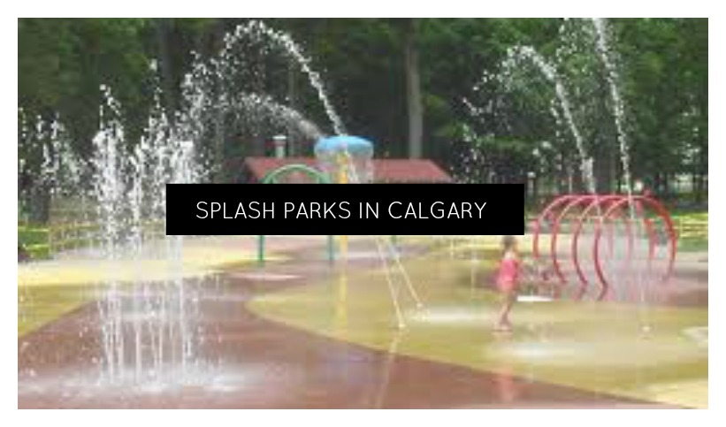 Splash Pads / Spray Parks  in Calgary