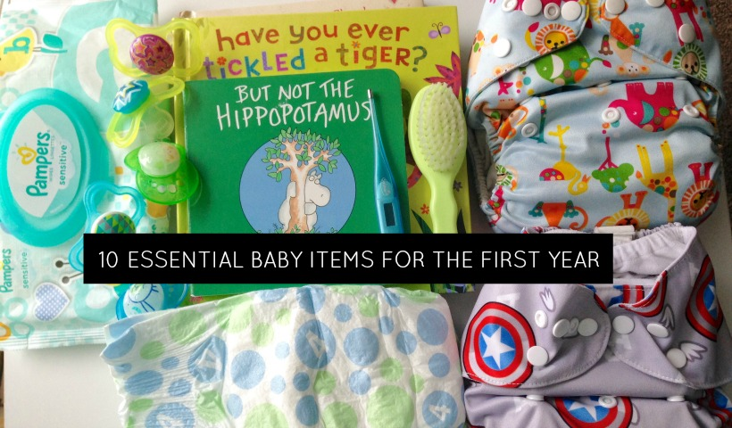 Ten Essential Baby Items To Get Through The First Year